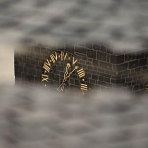Černá věž (v kaluži)DSC04169