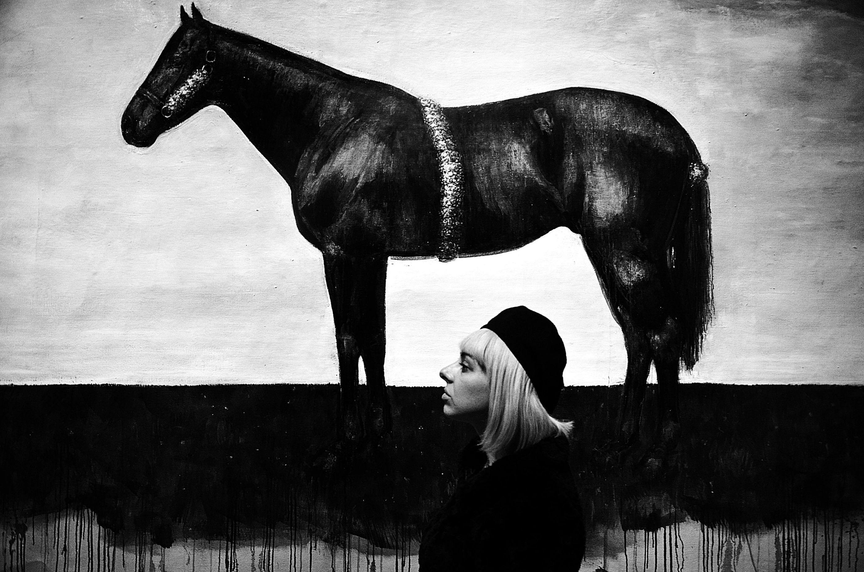 Dream about black horse